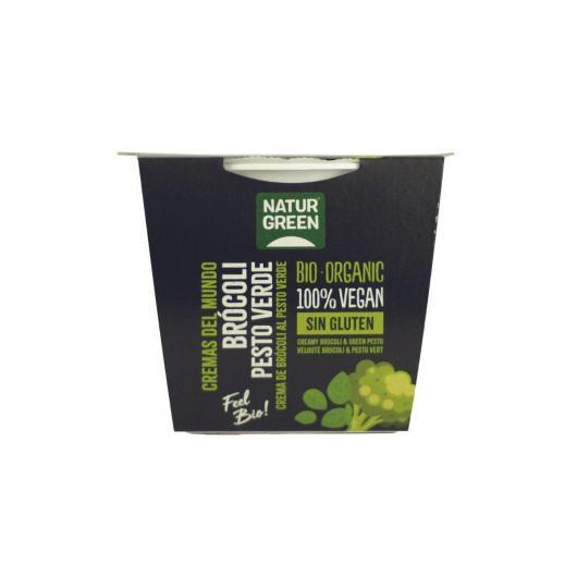 Crema de Brocoli al pesto verde Naturgreen, 310 g