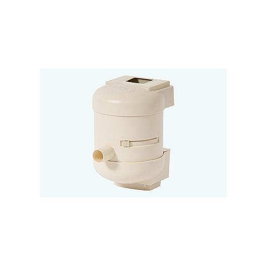 Filtre Twist beige pour tuyau de descente carré