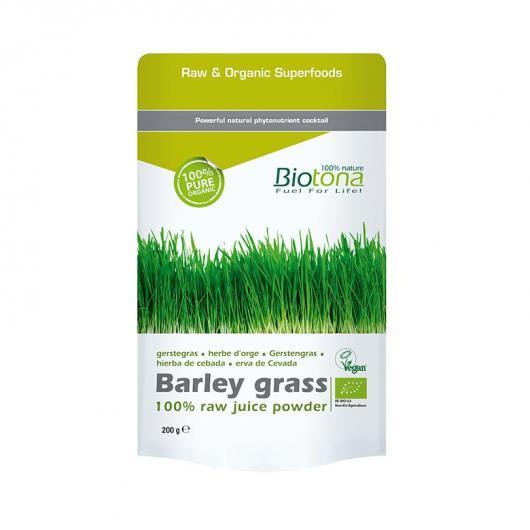 Barley grass Herbe d'orge en poufre BIO Biotona, 200g