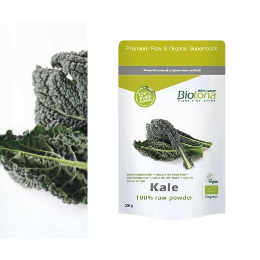 Kale in polvere BIO Biotona, 200 g