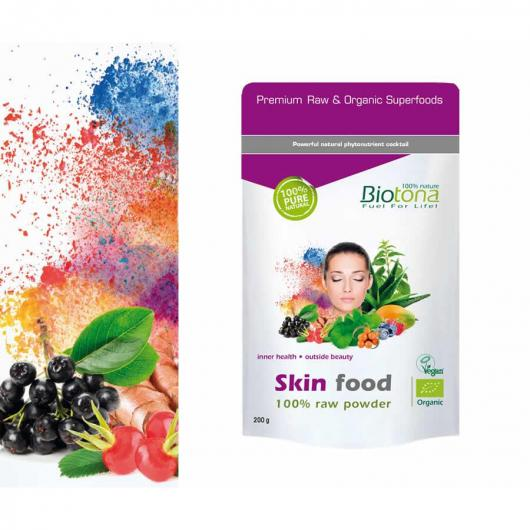 Cibo in polvere per la pelle BIO Biotona, 200 g
