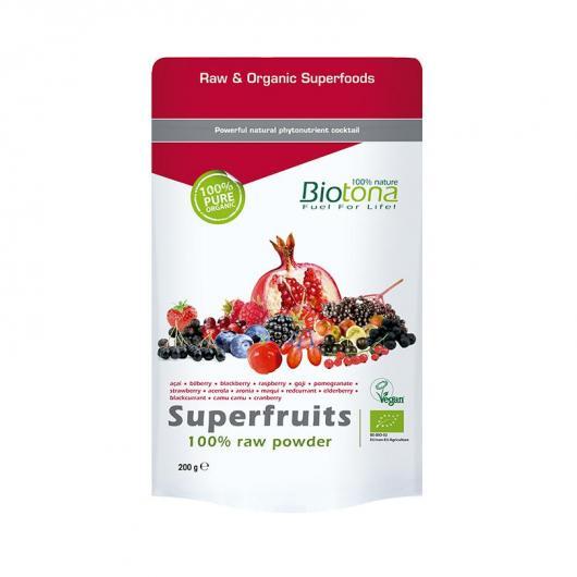 Superfruits en Poudre BIO Biotona, 200g