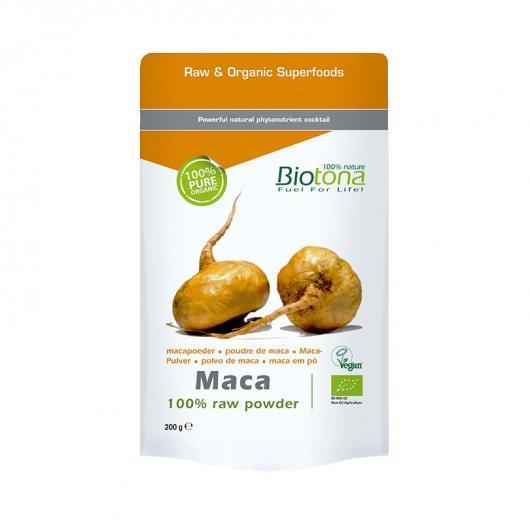 Polvere di maca BIO Biotona, 200 g