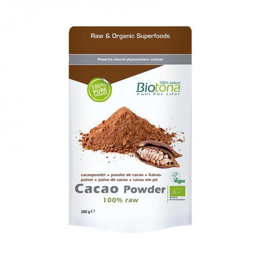 Cacao in polvere BIO Biotona, 200 g