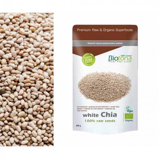 Semi di chia bianco BIO Biotona, 400 g