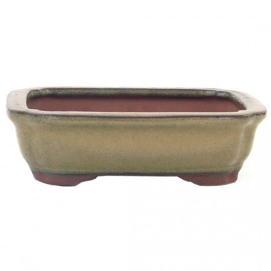 Pot Rectangulaire Beige 30 cm