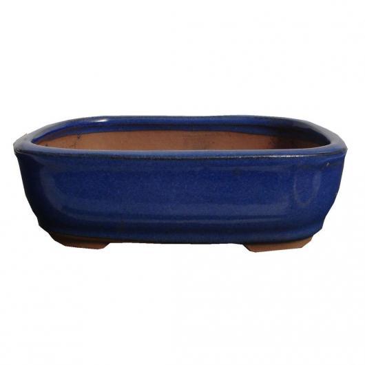 Tiesto oval azul 16 cm