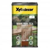 Olio per la teca Xyladecor Aquatech TECA