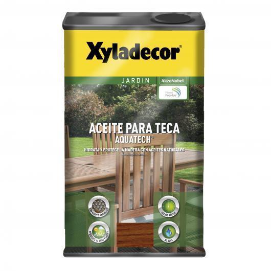 Aceite para teca Xyladecor Aquatech TECA