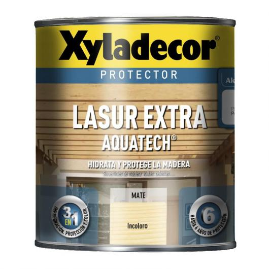 Protector Xyladecor Lasur Extra Aquatech INCOLORE 750 mL