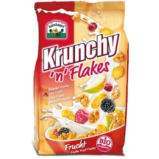Muesli Krunchy Flakes de Frutas Barnhouse  375 g