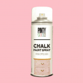 Pintura a la tiza / Chalk paint en Spray - Rosa Empolvado, 400 ml