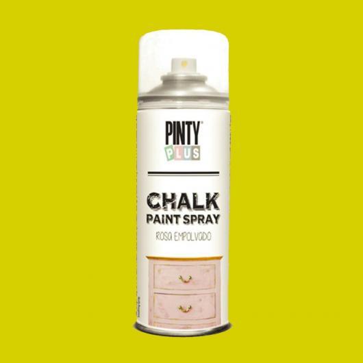 Pintura a la tiza / Chalk paint en Spray - Amarillo Mostaza, 400 ml