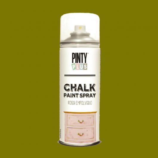 Pintura a la tiza / Chalk paint en Spray - Oliva Vintage, 400 ml