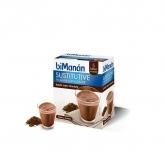 Frullato sostitutivo sapore cioccolato biManán, 5 buste + 1 gratis