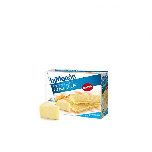 Crackers sacientes sabor queso biManán 10 crackers