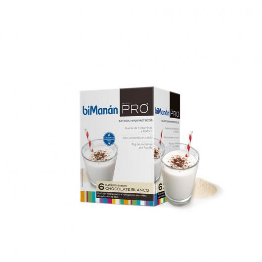 Frullato di Cioccolato Bianco sostitutivo biManán PRO 180