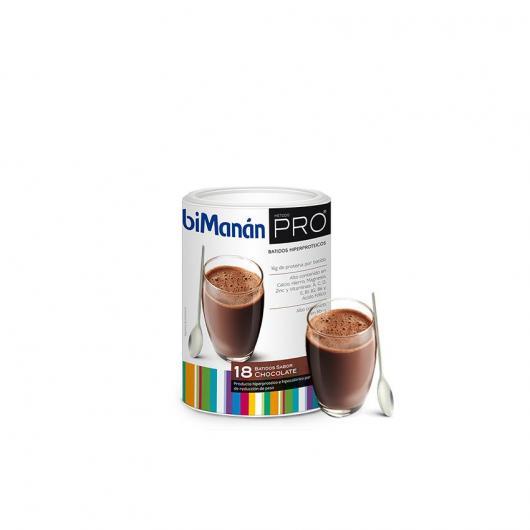 Mousse au Chocolat Substitutive Format Éco BiManán PRO, 540 g