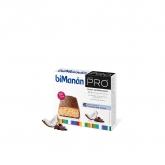 Barres Rassasiantes Chocolat-Coco biManán PRO, 6 unités