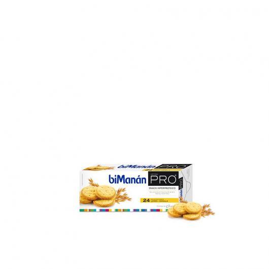 Biscotti sazianti dal sapore di limone e vaniglia Bimanán PRO, 24 biscotti