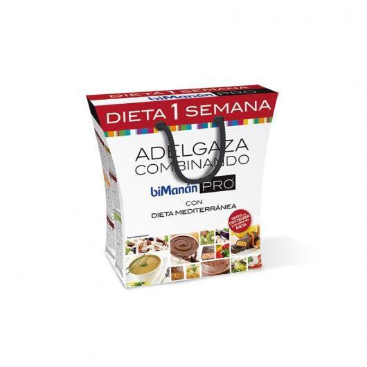 Confezione dieta 1 settimana Bimanán PRO
