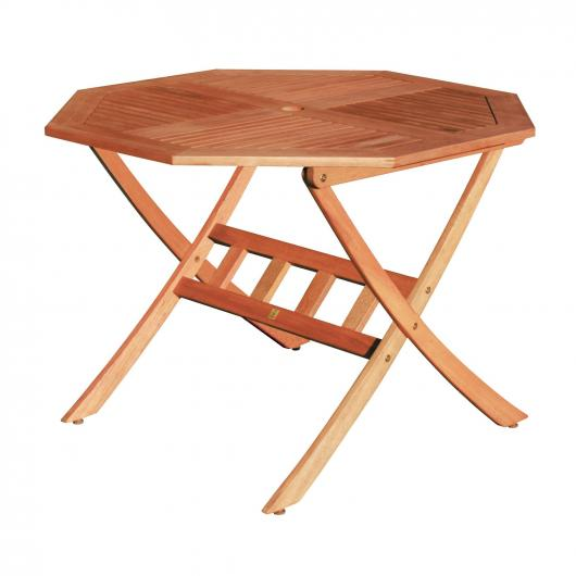 Table Octogonale Pliable Combinalbe Oval