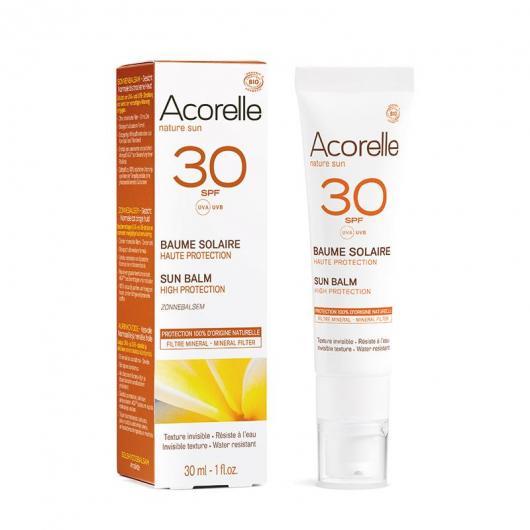 Bálsamo solar facial SPF30 Acorelle 30ml