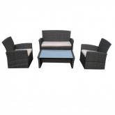 Conjunto de mobiliario de jardin Marsella