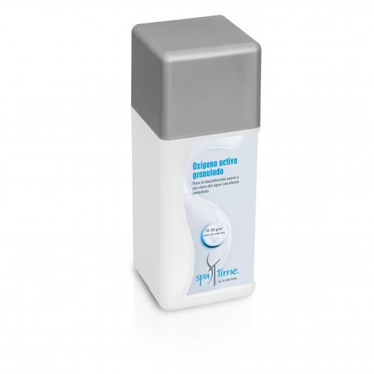 Oxígeno activo granulado Spa Time Bayrol