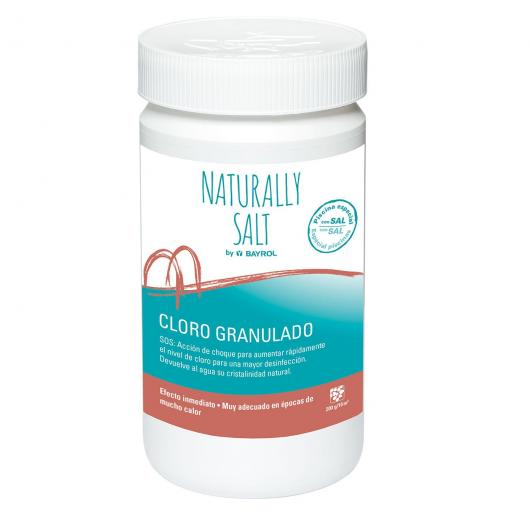 Cloro granulado Naturally salt Bayrol