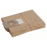 Pack di 5 borse di scorta per aspiratore Bosch