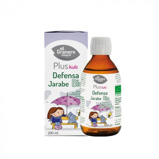 Sirop pour Enfant Défenses BIO Natureplant 200 ml (Grand)