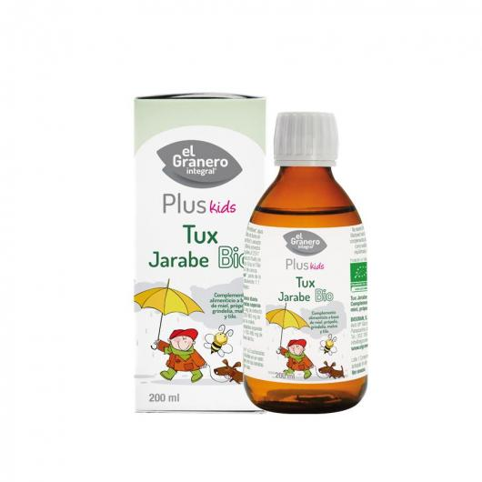 Jarabe Infantil Respira Tux Bio El Granero Integral 200ml