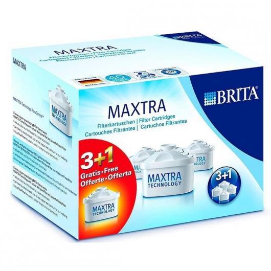 Confezione da 3 + 1 filtro di ricambio BRITA Maxtra