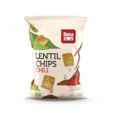 Chips bio de lentejas Chili Lima 90 g