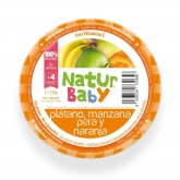 Natur Baby organic banana, apple, pear & orange puree 130g
