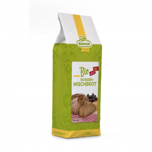 Mélange pour Pain de Seigle Bioreal 500 g