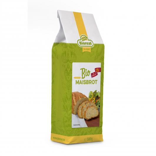 Mélange Bio pour Pain de Maïs Bioreal 500 g