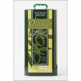 Olio di oliva extra vergine bio lata Olivalle
