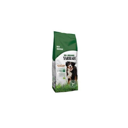 Pienso para perros activos vegeterianos o veganos bio Yarrah