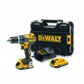 Perceuse à Percussion DeWalt 18V Li-Ion 460 W