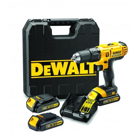 Taladro Combinado DeWalt XR 18V 13mm DCD776C3-QW