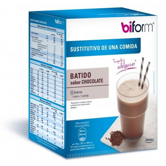 Frullato sostitutivo sapore cioccolato Biform, 5 buste