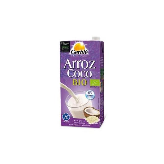 Bibita di riso e cocco BIO senza glutine Gerblé, 1 litro