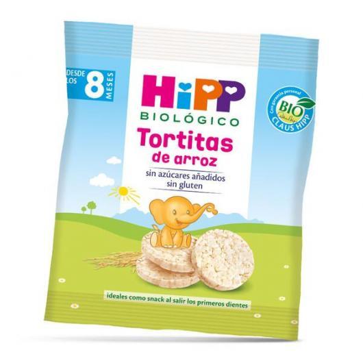 Tortitas de arroz 8M HiPP, 30 g