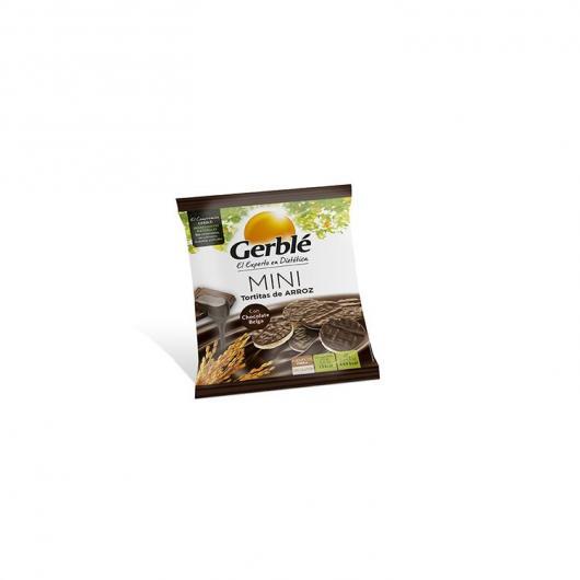 Mini tortina di riso con cioccolato belga senza glutine Gerblé, 48 g
