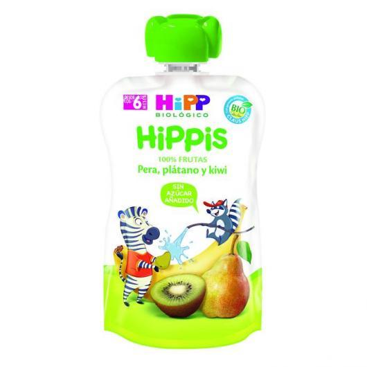 Gourde Biologique Kiwi, Poire et Banane HiPP, 90 g