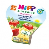 Pasta de estrellas con verduras mediterránea HiPP, 260 g