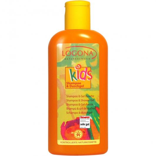 Shampoo/Gel doccia per bimbo Logona, 200ml