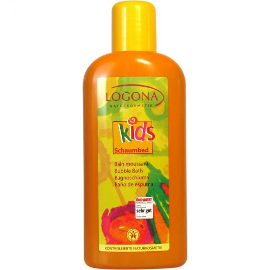 Gel bain moussant pour enfants Logona, 400 ml